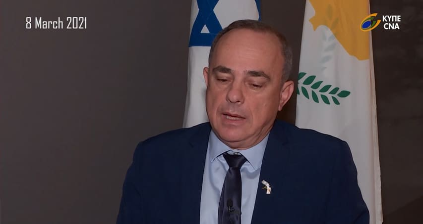 CNA Interview with the Israel's Energy Minister Dr Yuval Steinitz regarding the signing cooperation MoU for EuroAsia Interconnector